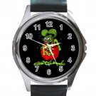 RAT FINK Unisex Round Silver Metal Watch
