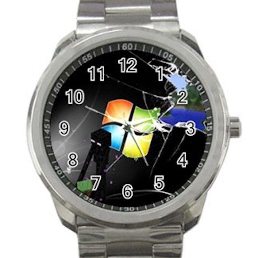 Minecraft Creeper Swords Diamond Steeve Design 6 Unisex Sport Metal Watch