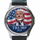 Donald Trump 2020 Unisex Round Silver Metal Watch