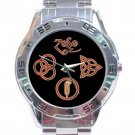 Led Zeppelin Symbols Stainless Steel Analogue Watch