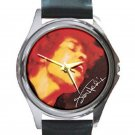 Jimi Hendrix - Electric Ladyland Unisex Round Silver Metal Watch