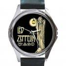 Led Zeppelin IV Symbols - Hermit Unisex Round Silver Metal Watch