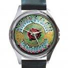 Grateful Dead - American Beauty Unisex Round Silver Metal Watch