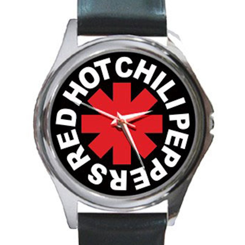 Red Hot Chili Peppers - RHCP Unisex Round Silver Metal Watch