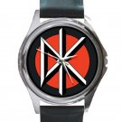Dead Kennedys Unisex Round Silver Metal Watch