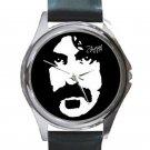 Frank Zappa Unisex Round Silver Metal Watch