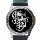 Allman Brothers Band Unisex Round Silver Metal Watch