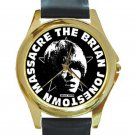 Brian Jonestown Massacre Unisex Round Gold Metal Watch