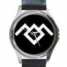 Twin Peaks - Owl Cave Unisex Round Silver Metal Watch