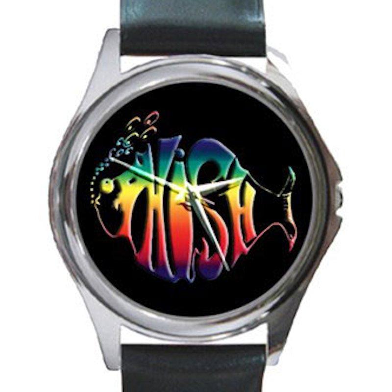 Phish Unisex Round Silver Metal Watch