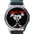 Pearl Jam - Stickman Unisex Round Silver Metal Watch