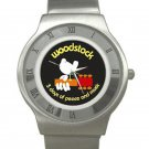 Woodstock - 3 Days of Peace and Music Chrome Roman Dial Unisex Ultra Slim Watch