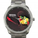 Jimi Hendrix - Band of Gypsys Unisex Sport Metal Watch