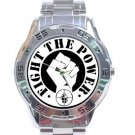 Public Enemy - Fight the Power Stainless Steel Analogue Watch