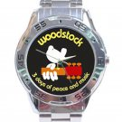 Woodstock - 3 Days of Peace and Music Stainless Steel Analogue Watch