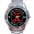 X-Files - Truth Is Out There Stainless Steel Analogue Watch