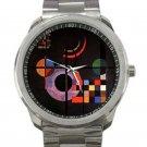 Wassily Kandinsky - Gravitation Unisex Sport Metal Watch