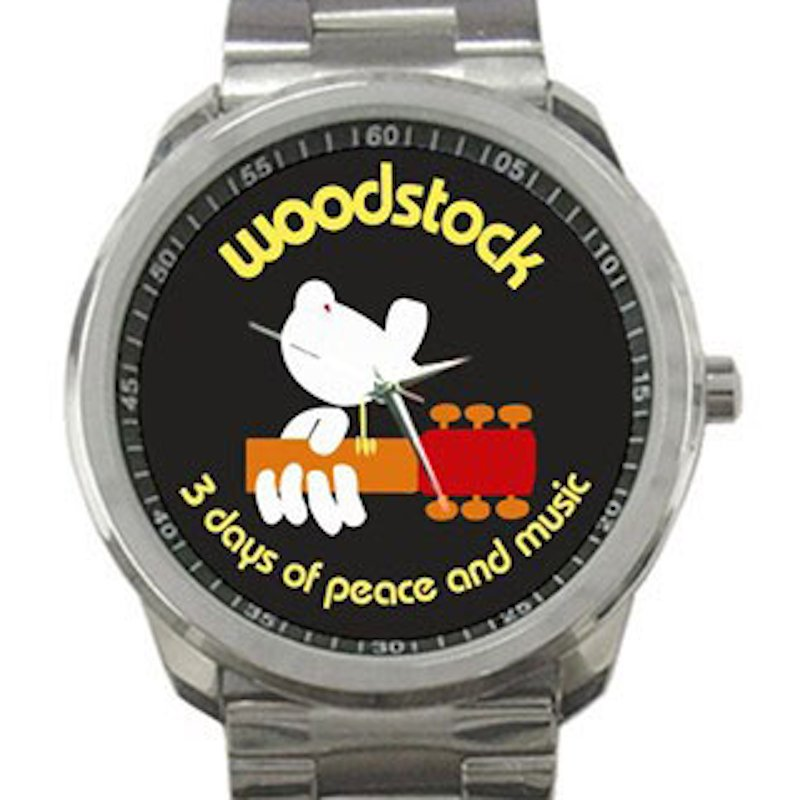 Woodstock - 3 Days of Peace and Music Unisex Sport Metal Watch