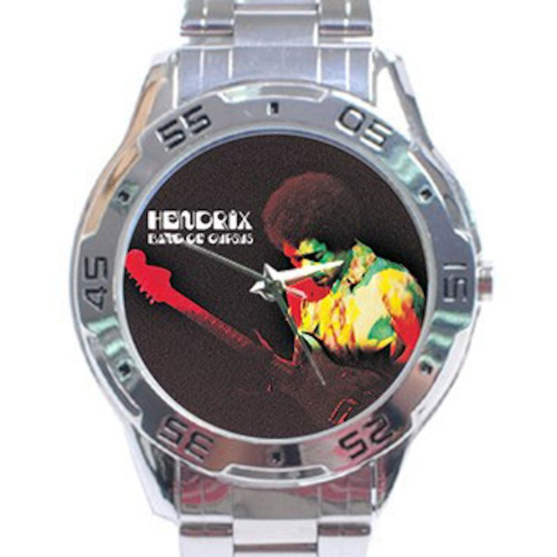 Jimi Hendrix - Band of Gypsys Stainless Steel Analogue Watch