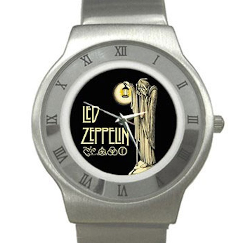 Led Zeppelin IV Symbols - Hermit Chrome Roman Dial Unisex Ultra Slim Watch