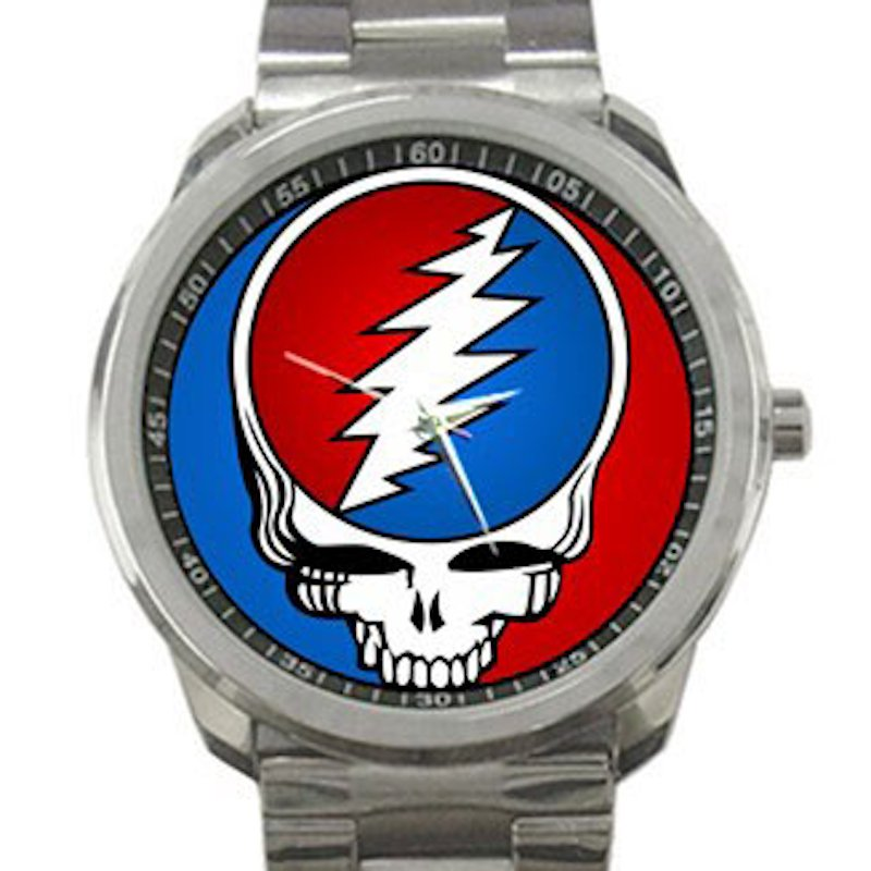 Grateful Dead - Steal Your Face - Classic Stealie Unisex Sport Metal Watch
