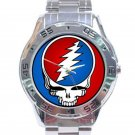 Grateful Dead - Steal Your Face Stainless Steel Analogue Watch