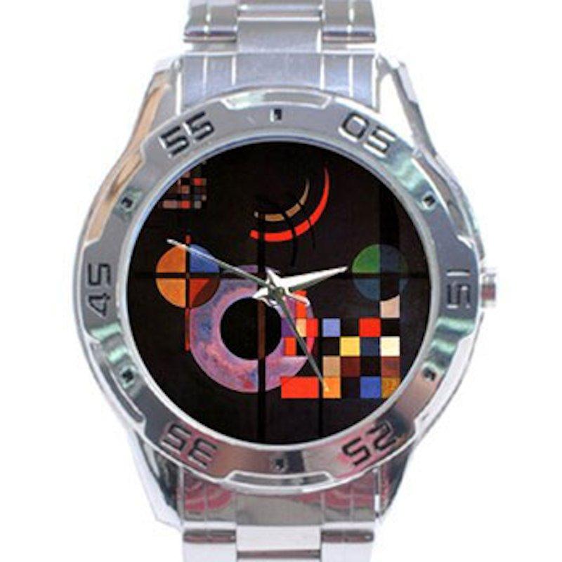 Wassily Kandinsky - Gravitation Stainless Steel Analogue Watch