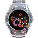 Wassily Kandinsky - Gravitation Stainless Steel Analogue Watch