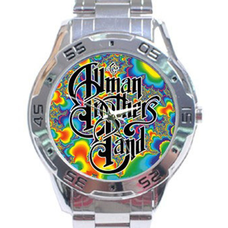 Allman Brothers Band - Fractal Stainless Steel Analogue Watch