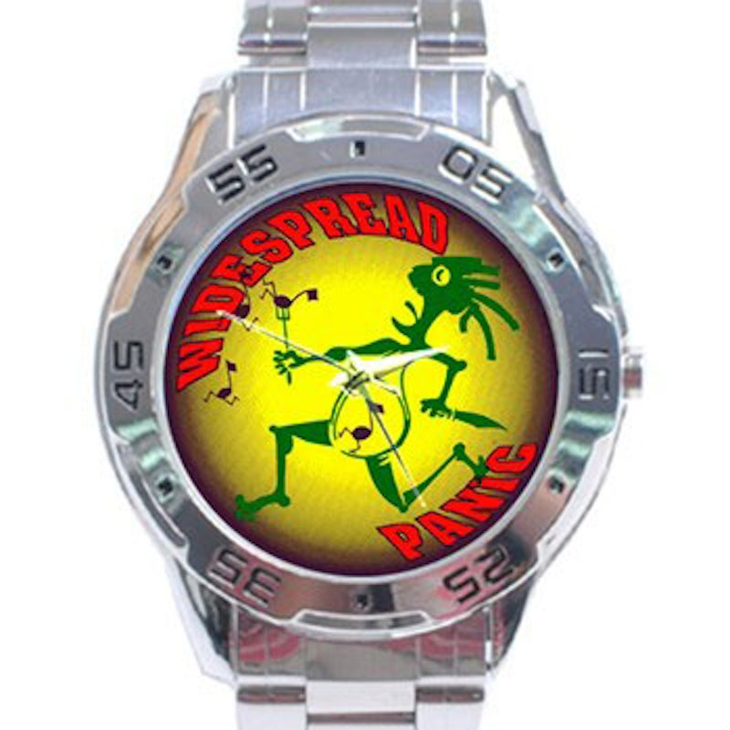 Widespread Panic - Note Eater Stainless Steel Analogue Watch
