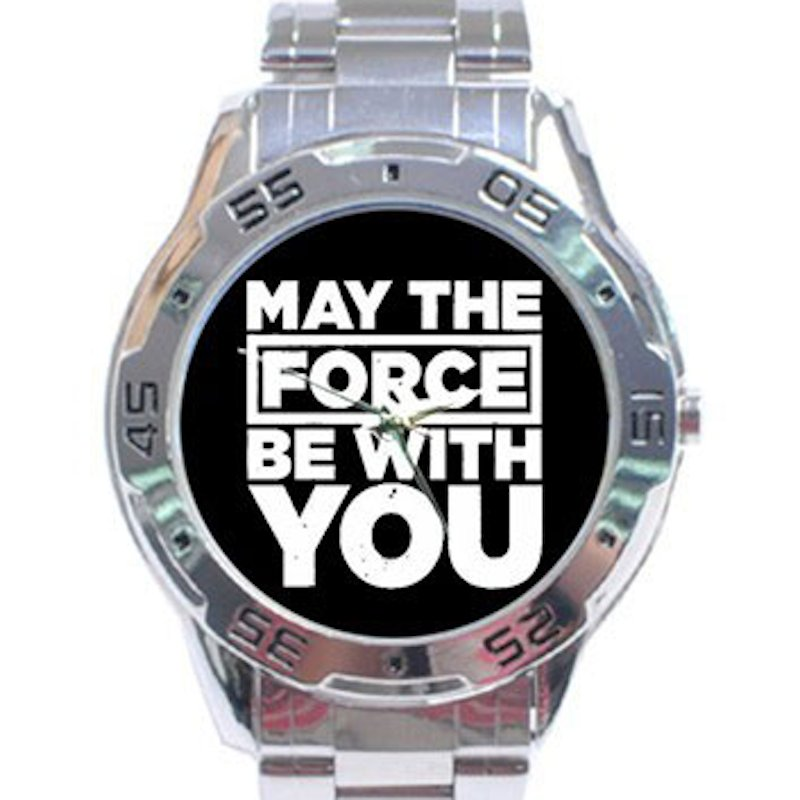 May The Force Be With You - Star Wars Stainless Steel Analogue Watch