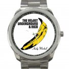 Velvet Underground & Nico - Banana - Andy Warhol Unisex Sport Metal Watch