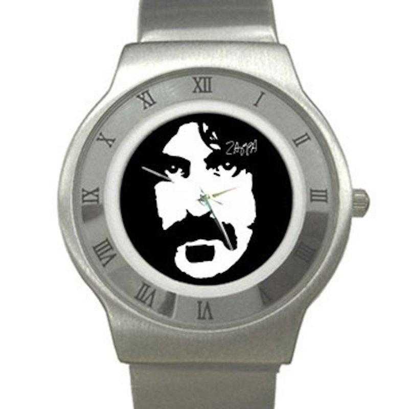 Frank Zappa Chrome Roman Dial Unisex Ultra Slim Watch
