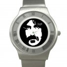 Frank Zappa Chrome Roman Dial Unisex Ultra Slim Watch