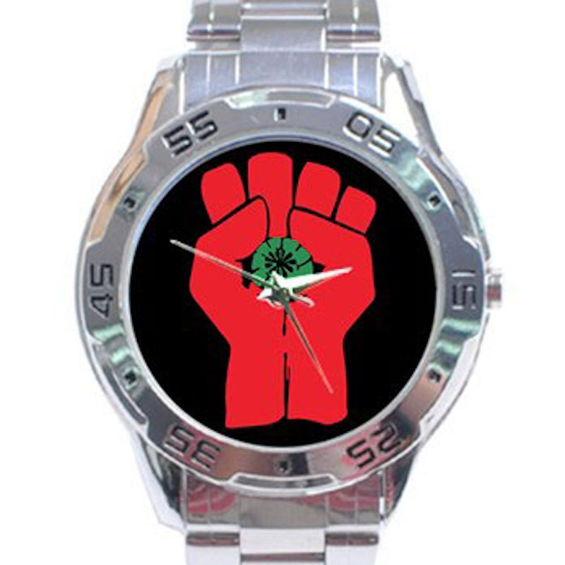 Gonzo Fist - Hunter S. Thompson Stainless Steel Analogue Watch