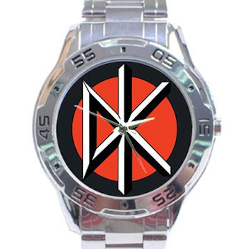 Dead Kennedys Stainless Steel Analogue Watch
