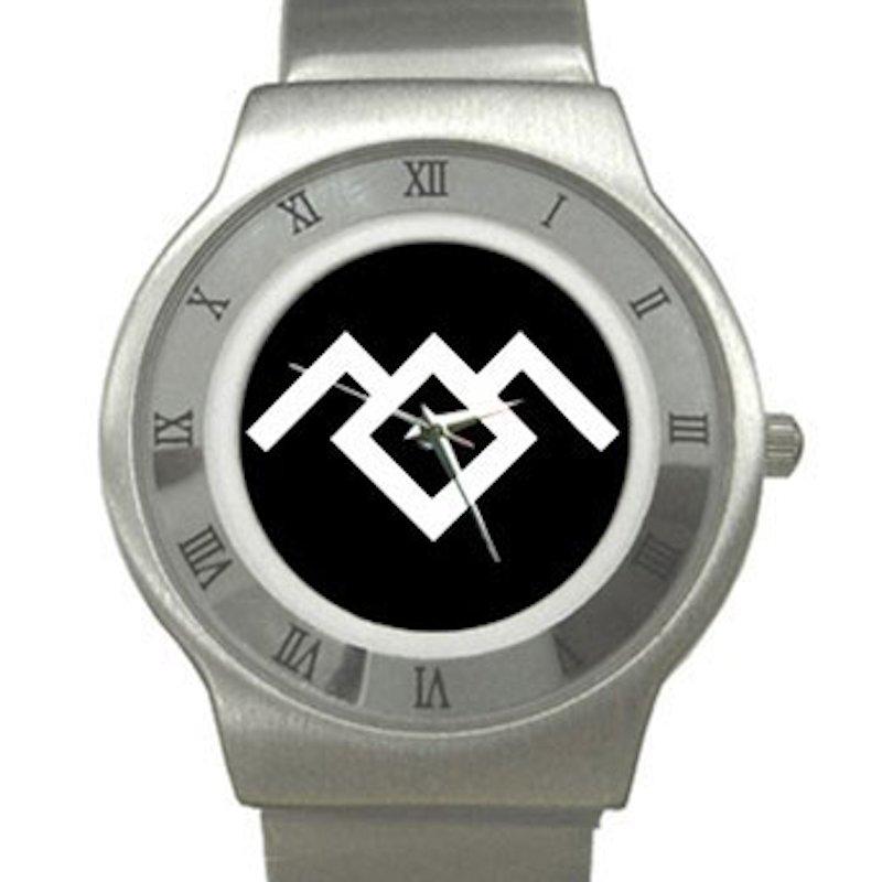 Twin Peaks - Owl Cave Chrome Roman Dial Unisex Ultra Slim Watch
