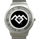 Twin Peaks - Owl Cave Chrome Roman Dial Unisex Ultra Slim Watch