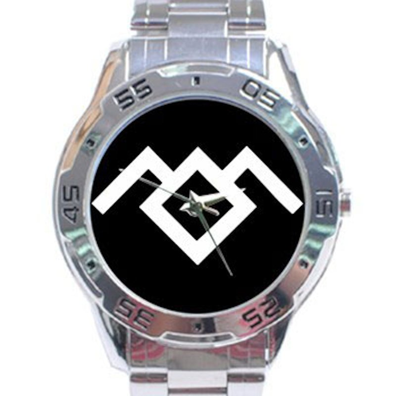 win Peaks - Owl Cave Stainless Steel Analogue Watch