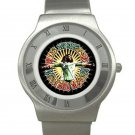 Bob Marley - Natural Mystic Chrome Roman Dial Unisex Ultra Slim Watch