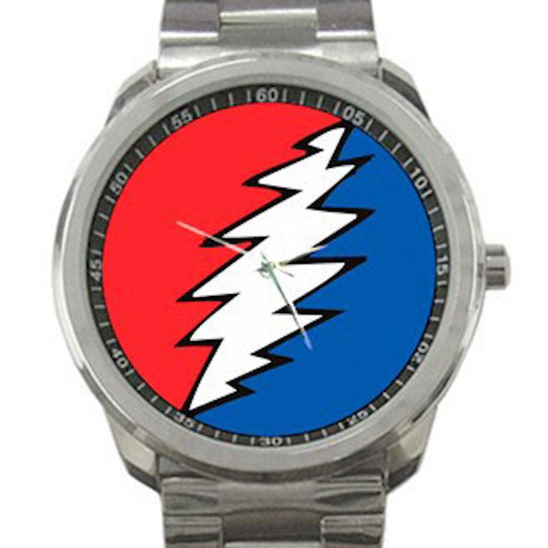Grateful Dead - Bolt Unisex Sport Metal Watch