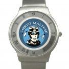 Corto Maltese Chrome Roman Dial Unisex Ultra Slim Watch