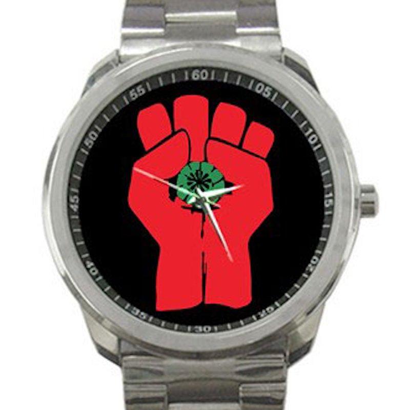 Gonzo Fist - Hunter S. Thompson Unisex Sport Metal Watch