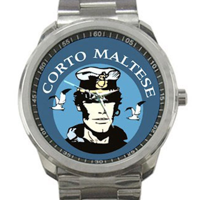 Corto Maltese Unisex Sport Metal Watch
