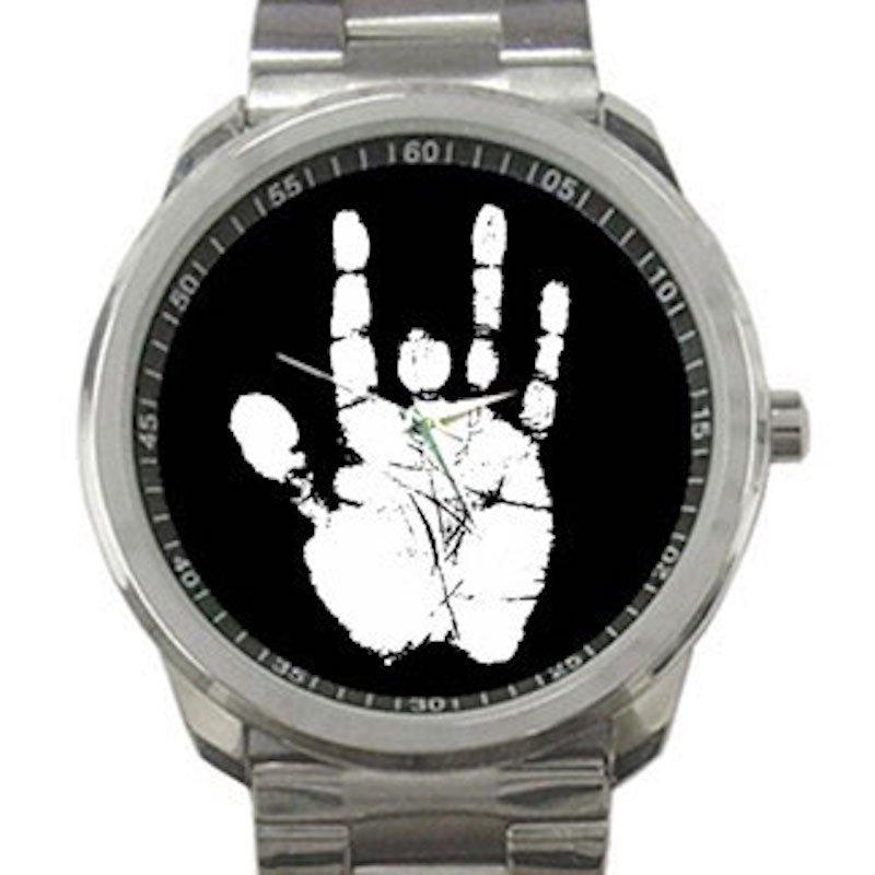 Jerry Garcia Handprint Unisex Sport Metal Watch