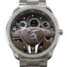 Mercedes C250 Steering Wheel Unisex Sport Metal Watch