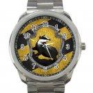 Harry Potter Hogwarts Hufflepuff Crest Unisex Sport Metal Watch