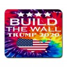 "Trump-Build The Wall 9.25"" x 7.75 Large Rectangular Durable Heat-Resistant Mouse Pad"
