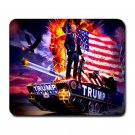 "President Donald Trump 9.25"" x 7.75 Large Rectangular Durable Heat-Resistant Mouse Pad"