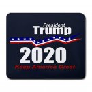 "President Trump 2020-9.25"" x 7.75 Large Rectangular Durable Heat-Resistant Mouse Pad"